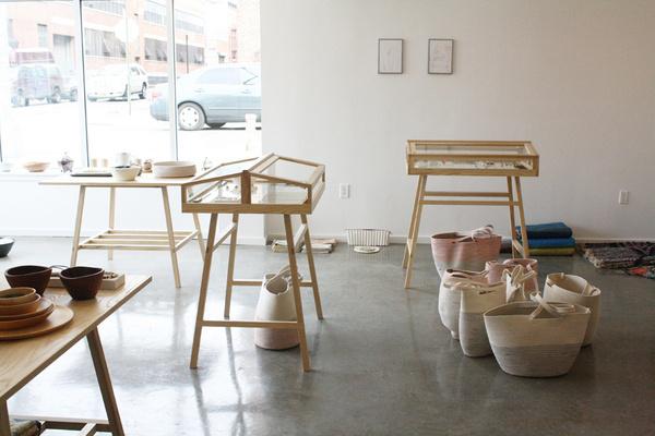 MOC interior #wood #installation