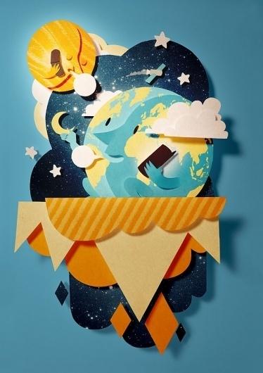 Bomboland #illustration #paper #poster