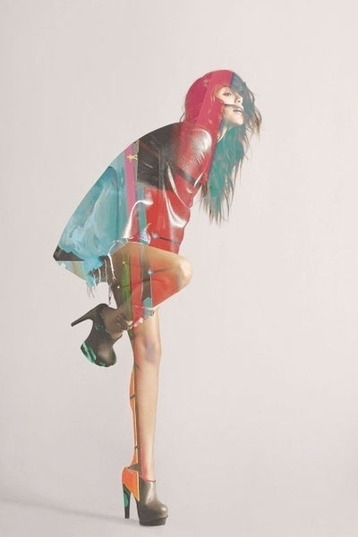 Matt Wisniewski Futur couture #fashion #photography #collage