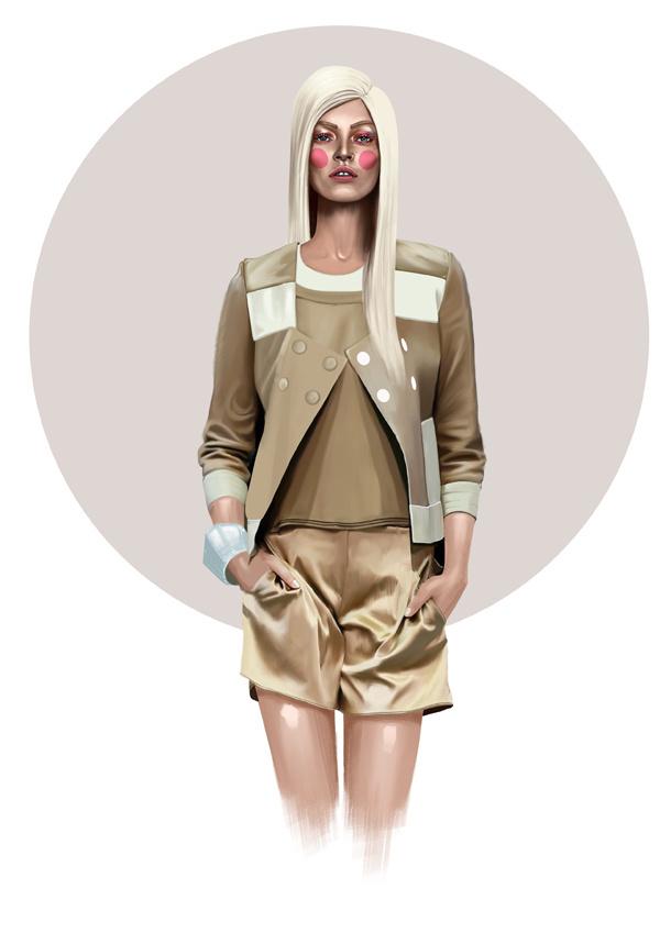 Mustafa Soydan - Fashion Illustrations #fashion #mustafa #illustrations #soydan