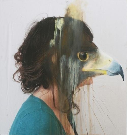 Charlotte Caron's Painted Animal Portraits   Trendland: Fashion Blog & Trend Magazine #paint