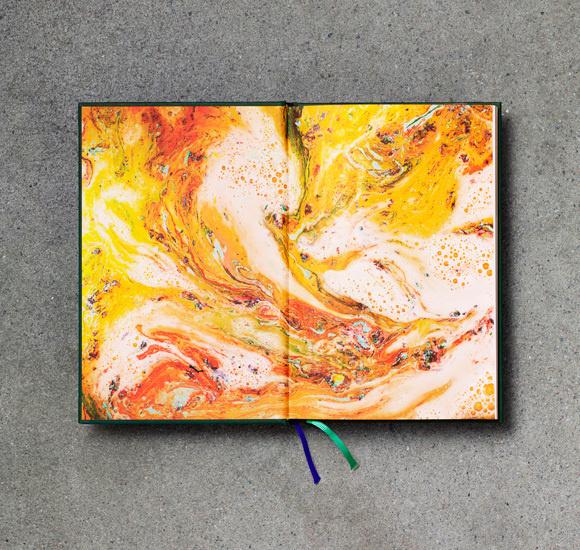 Brygg öl Karl Grandin illustration #beer #karl #pattern #design #book #spread #marble #grandin