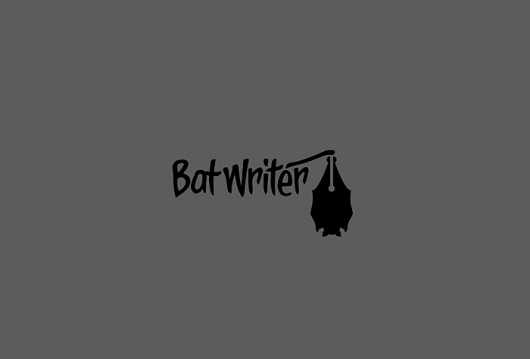 Bat Writer - Logos - Creattica