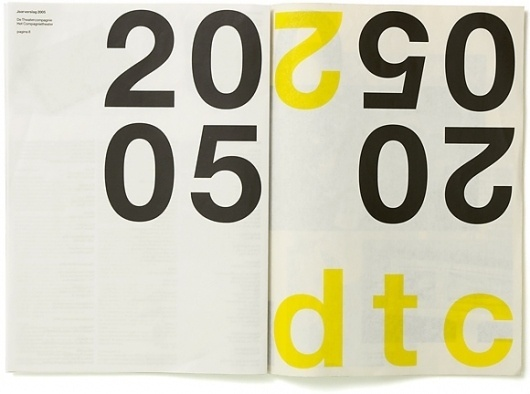 DTC / Annual report - Experimental Jetset #jetset #design #experimental #publication