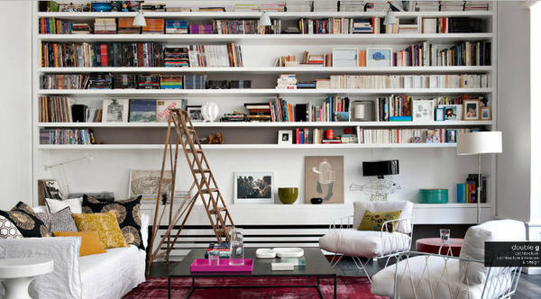 Fredagsinspirasjon: — No. 155 #interior #books #living #ladder #room