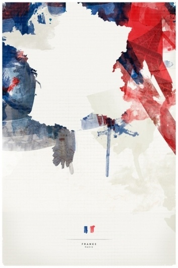 France Stretched Canvas by Jerod Gibson | Society6