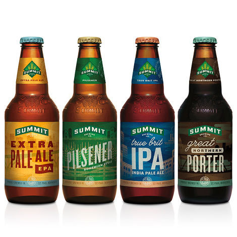 Summit Brewing Bottles #packaging #beer