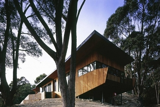 Wall of Warburton House » ISO50 Blog – The Blog of Scott Hansen (Tycho / ISO50) #wood #australian #architecture #house