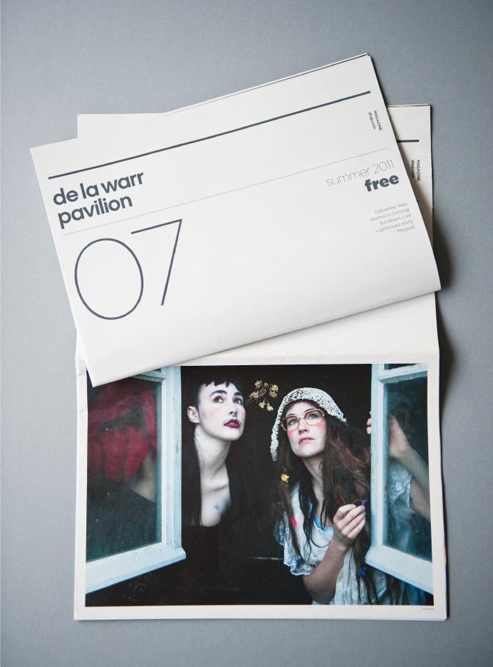 http://www.airdesign.co.uk/work/de-la-warr-pavilion/ #poster #print #minimal #branding