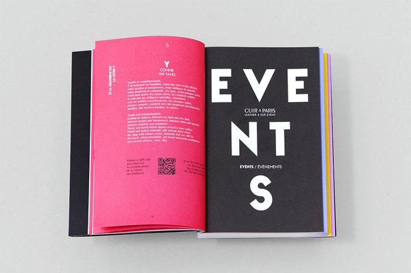 Cuir à Paris AW 14/15 Les Graphiquants #spread #layout #editorial