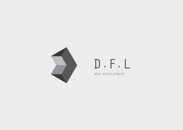 D.F.L Web Development logo #icon #logo #design #graphic