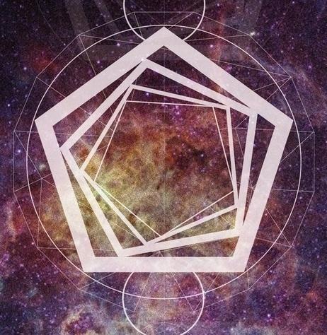 IX - Nine on the Behance Network #illustration #geometry #space