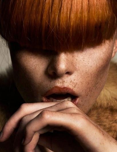 iainclaridge.net #red #woman #head #skin #hair #fashion #face