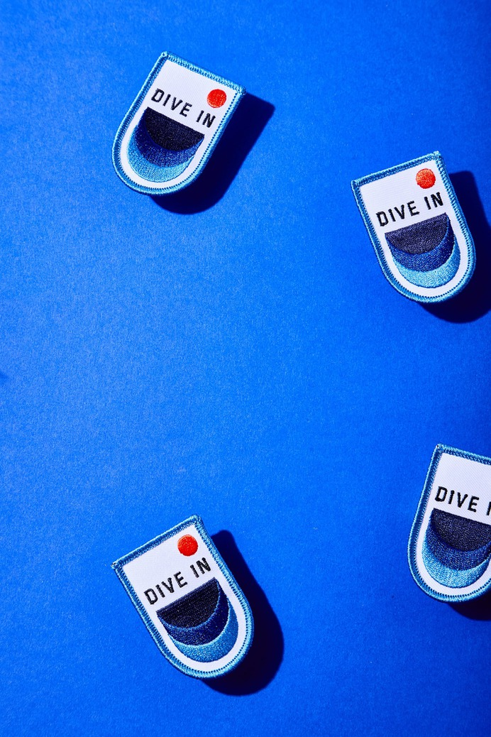 Dive In Corporate Design - Mindsparkle Mag Beautiful branding for Dive In, a personal photography challenge by Leigh Webber, created by SD & Co. #branding #identity #color #photography #graphic #design #gallery #blog #project #mindsparkle #mag #beautiful #portfolio #designer