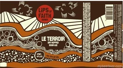 New-Belgium-Lips-LeTerrior.jpg 426×236 pixels #beer #label #belgium #brown #drawn #hand #new