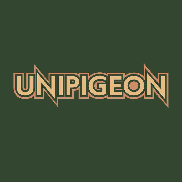 logo Unipigeon - Matt Terrell #unipigeon #band #brooklyn #logo