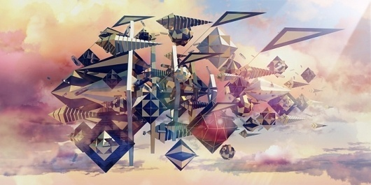 Plenty - Featured Works #sky #shapes #triangle #geometer #surreal