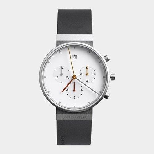 Clean White Watch