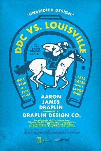 Draplin Design Co. #draplin #poster