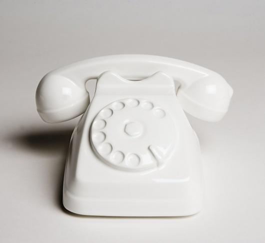 Home Entertainment __Colette : Sam Baron: #object #telephone #white
