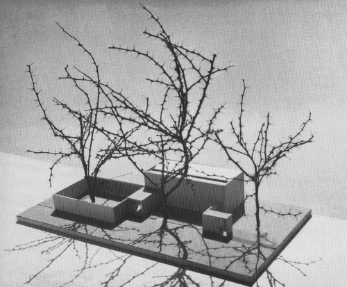 MAX BILL MODEL OF THE SWISS PAVILION AT THE VENICE BIENNALE / UNBUILT, 1951 #max #courtyards #models #bill #architecture