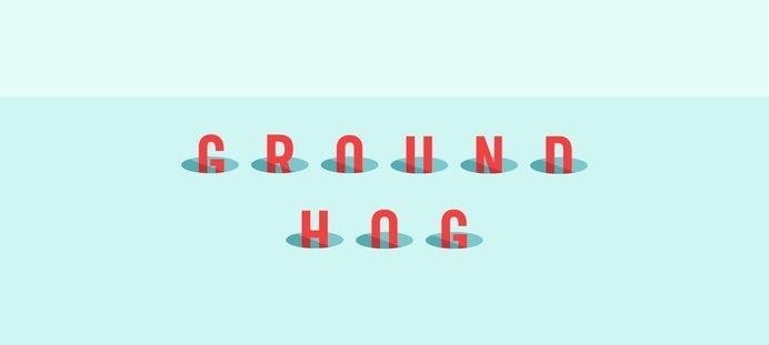 Kaldor | Groundhog #ground #vector #project #word #design #hog #illustration #type