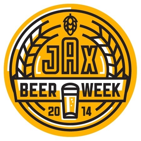 Jacksonville Beer Week Logo #beer #logo