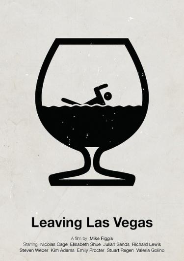 Merde! - stanpolito: 'Leaving Las Vegas' pictogram movie... #design #graphic