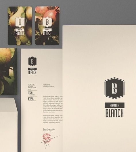 Fruita Blanch : Lovely Stationery . Curating the very best of stationery design #stationary #typography