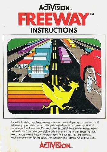 Atari - Freeway | Flickr - Photo Sharing! #video #booklet #games #manual
