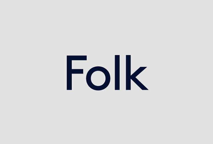Folk Clothing by IYA Studio #logo #logotype