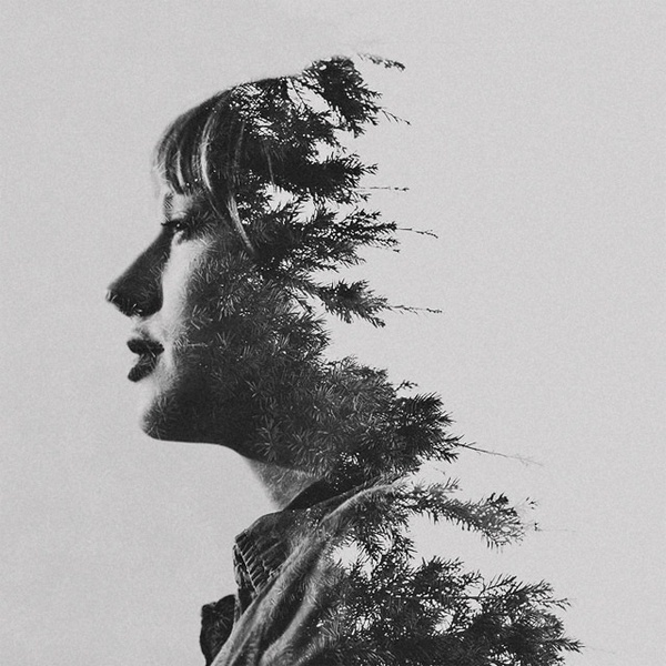 Double Exposure Photographs by Sara K Byrne #inspiration #abstract #photography