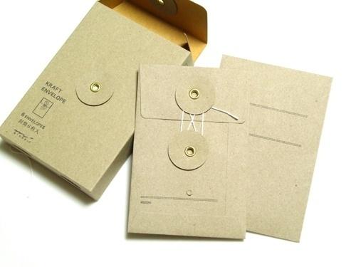 【楽天市場】クラフト エンベロップ縦 紐付 茶 ミドリ※お取り寄せのだ#packaging