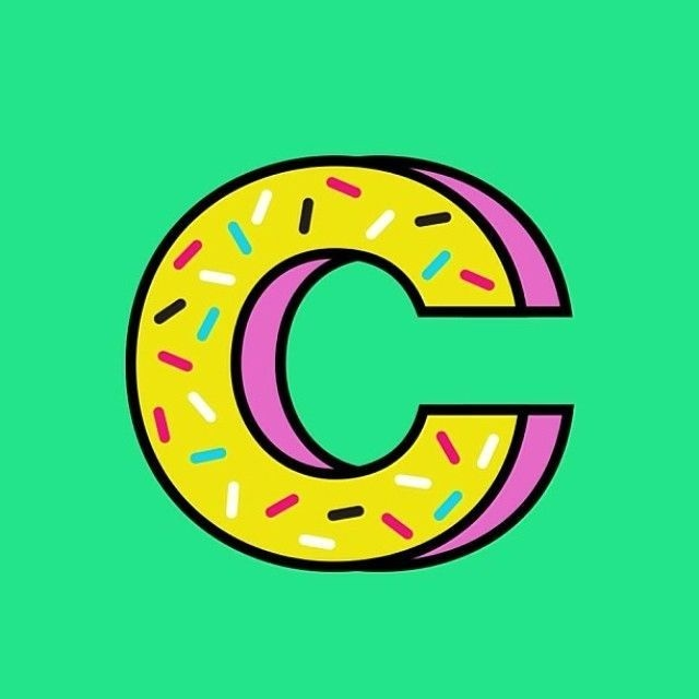 sugar C #font #typography