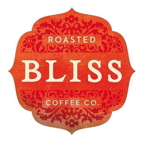 Roasted Bliss coffee logo   Flickr - Photo Sharing! #logo #illustration #identity #typography