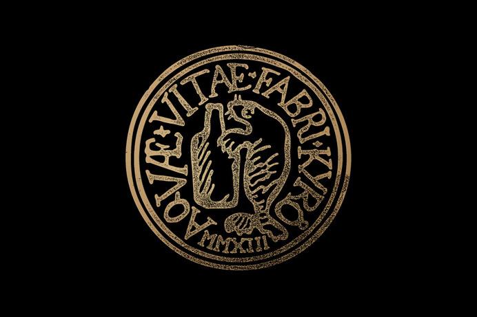 Seal drawn by Werklig for Kyrö Distillery Company #seal #whisky #distillery