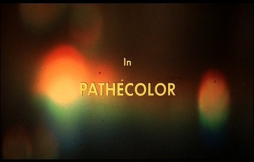 in pathécolor | Flickr - Photo Sharing! #stills #film