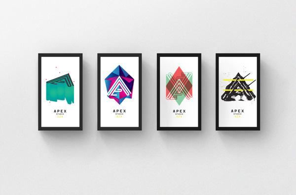 Apex Branding on Behance #stationary #branding #apex