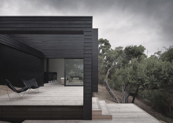 CJWHO ™ (Ridge Road Residence by Studio Four We sought to...) #design #black #wood #photography #architecture #residence #luxury