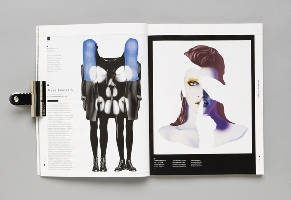 Computer Arts Collection: Illustration Edition Featured Magazine | Ape on the Moon: Contemporary Visual Culture #arts #print #collection #magazine