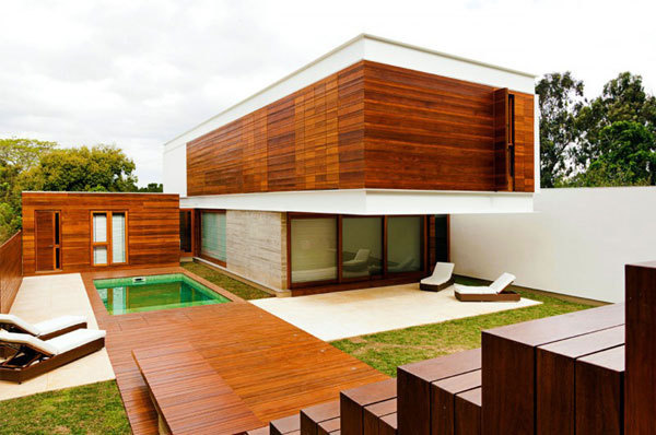 Haack House #wood #design #architecture