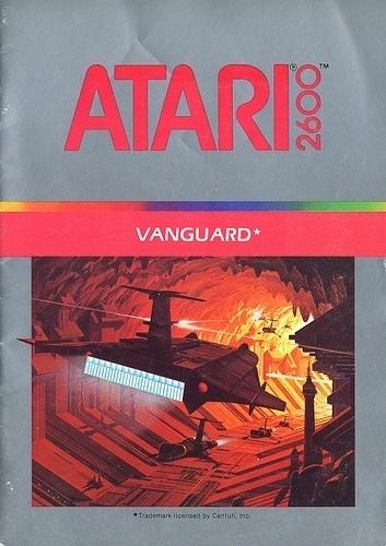 Atari - Vanguard   Flickr - Photo Sharing! #games #video #illustration #manual #booklet