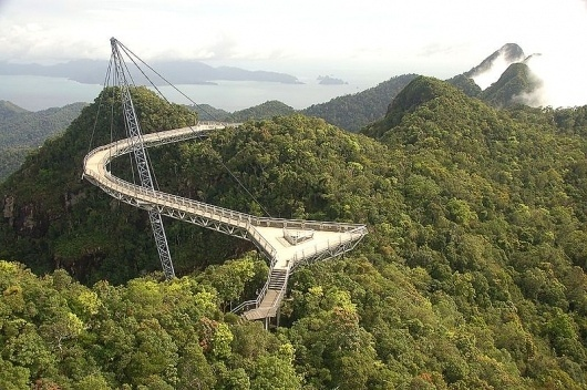 File:Langkawi sky bridge.jpg - Wikipedia, the free encyclopedia #bridge #architecture #sky