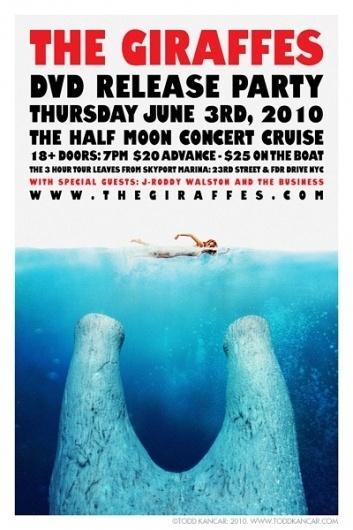 130126.jpg (JPEG Image, 400x600 pixels) #ten #todd #kancar #city #giraffes #octopus #the #ton #poster #music #nyc #york #new
