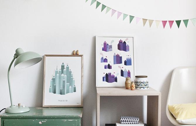#nordic #design #graphic #illustration #danish #bright #simple #nordicliving #living #interior #kids #room #poster #paper #stonepaper #stati