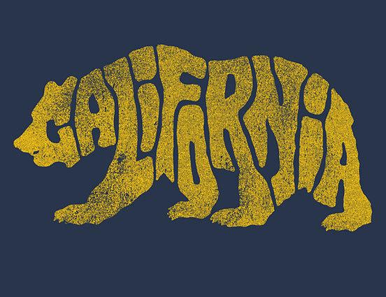 CAL BEAR #type image