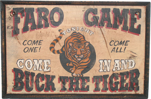 POKER SHIRTS #sign #painted #tiger #typography