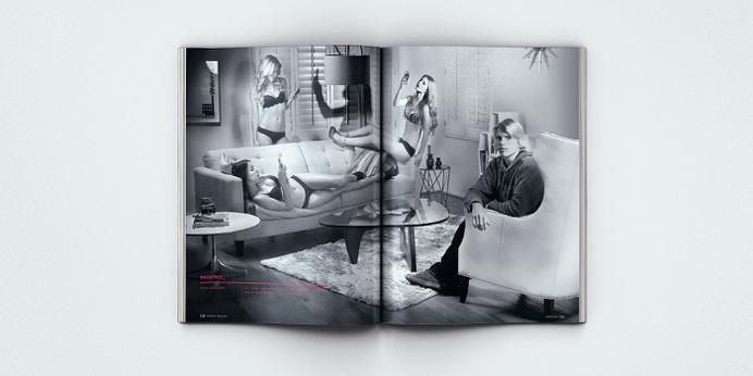 Surfing Magazine Editorial 2012 - Joy Stain #surf #surfing #print #spread #layout #sex #editorial #magazine #typography