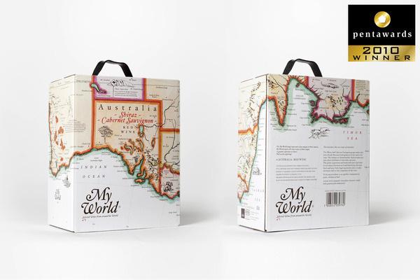 My World Wines www.olssonbarbieri.com #package #boxed #wine