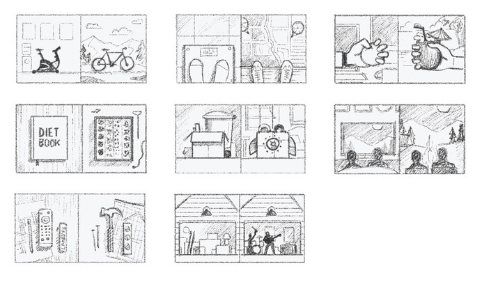 Concept Sketches #sketches #process